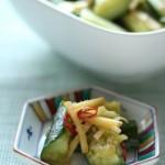 生姜ときゅうりのサッと炒め