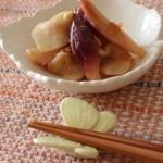 【新生姜とみょうがの梅肉漬け】