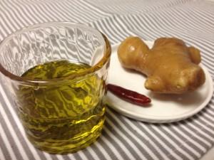オリーブ生姜