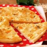 クリスマスにこんなピザはどうでしょう?生姜ピザ